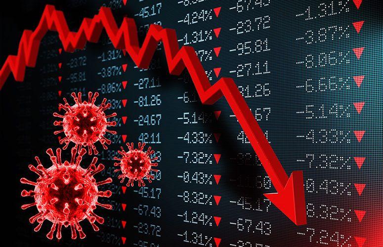 تأثير فيروس كورونا علي الاقتصاد